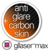 Folia Ochronna Gllaser MAX Anti-Glare + Gllaser CARBON Skin 3D do Kazam PLUS 5  5.5""