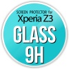 Szkło ochronne screen protector GLASS 9H do Sony Xperia Z3 Tempered Glass Screen Protector